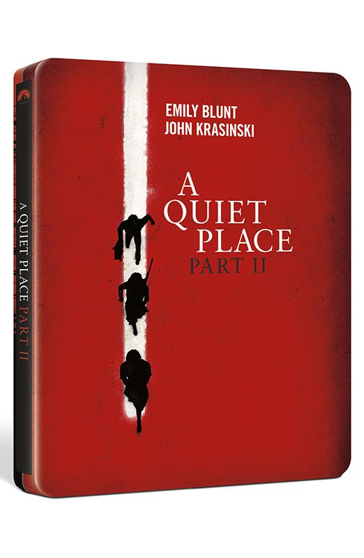 A Quiet Place II - Steelbook Blu-ray 4K UHD + Blu-ray (Blu-ray)