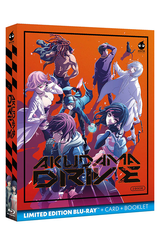 Akudama Drive - Limited Edition 2 Blu-ray + Card + Booklet - Serie Completa (Blu-ray)