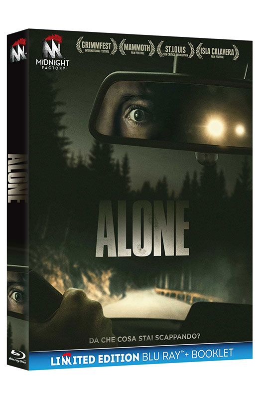 Alone - Limited Edition Blu-ray + Booklet (Blu-ray)