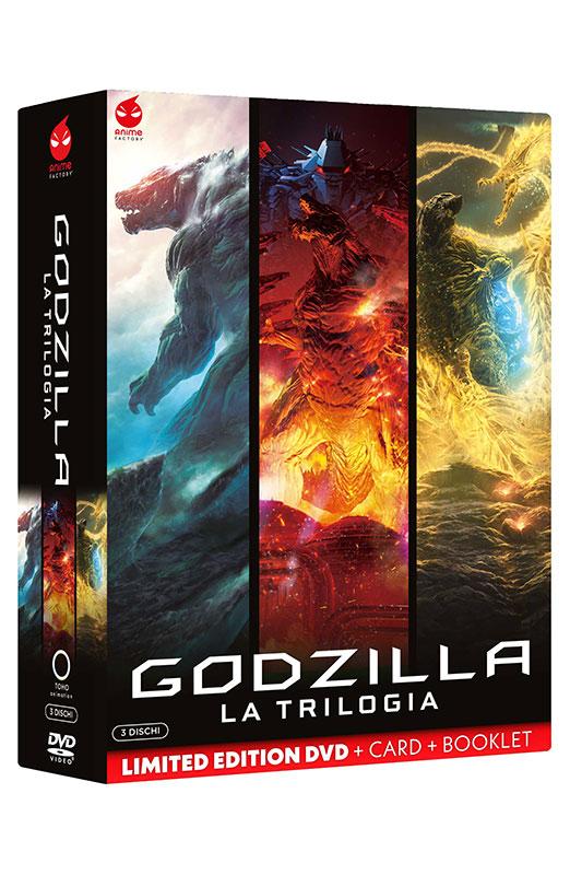 Godzilla - La Trilogia - Limited Edition 3 DVD + Card + Booklet (DVD)