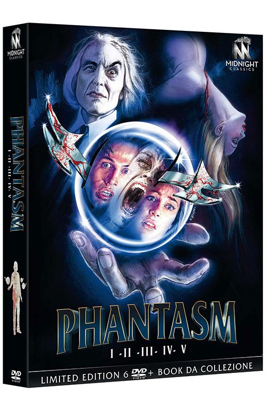 Phantasm - La Pentalogia Completa - Limited Edition 6 DVD + Book da Collezione (DVD)