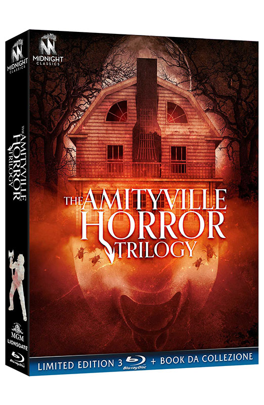 The Amityville Horror Trilogy - Limited Edition 3 Blu-ray + Book da Collezione (Blu-ray)