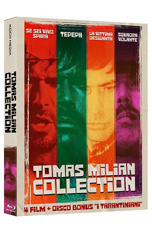 Tomas Milian Collection - Boxset 5 Blu-ray - 4 Film + Disco Bonus (Blu-ray)